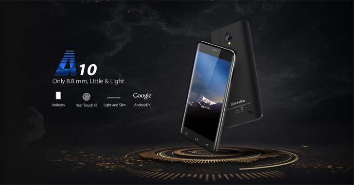 Готовится к выходу бюджетный смартфон Blackview A10