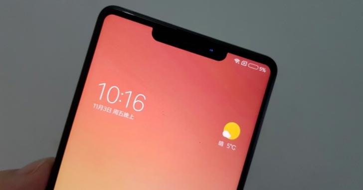 Обновленный Xiaomi Mi Mix 2S будет копировать дизайн iPhone X?