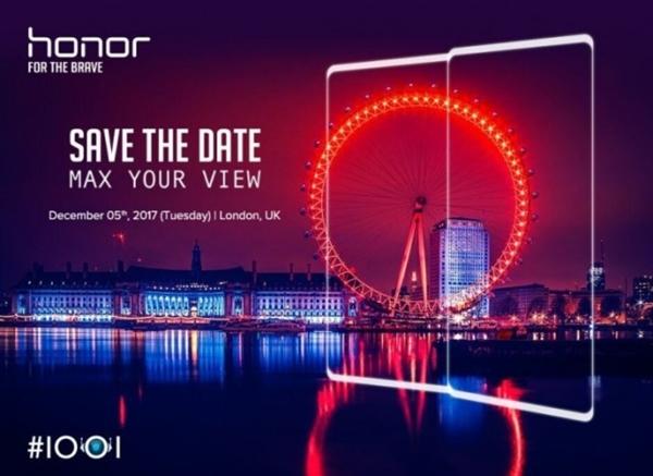 »звестна дата презентации Huawei Honor V10