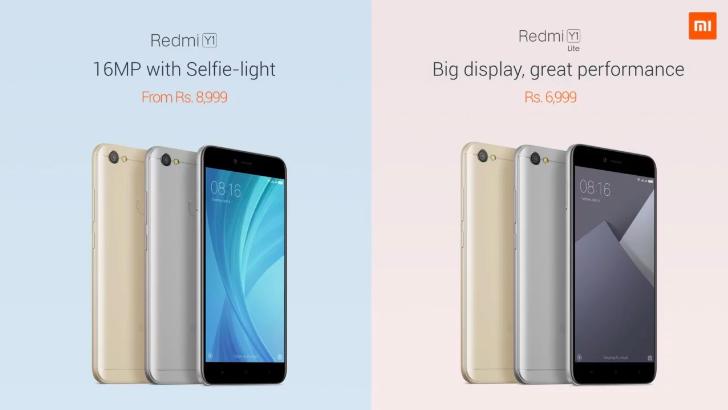 За три минуты было продано 150 тысяч Xiaomi Redmi Y1 и Y1 Lite