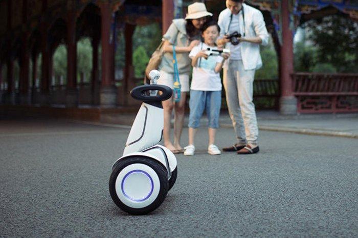 Для гироскутера Mi Ninebot Plus выпущена камера