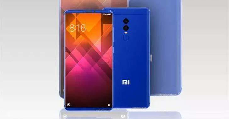 Фото очередного концепта Xiaomi Mi7 опубликовали в Сети