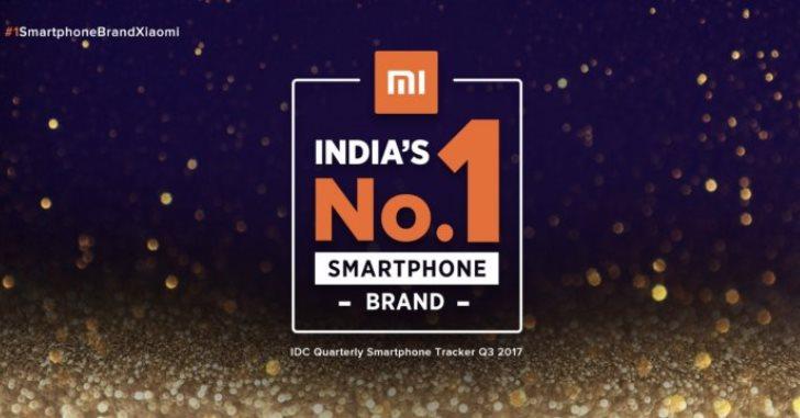 Xiaomi – самый популярный бренд смартфонов в Индии
