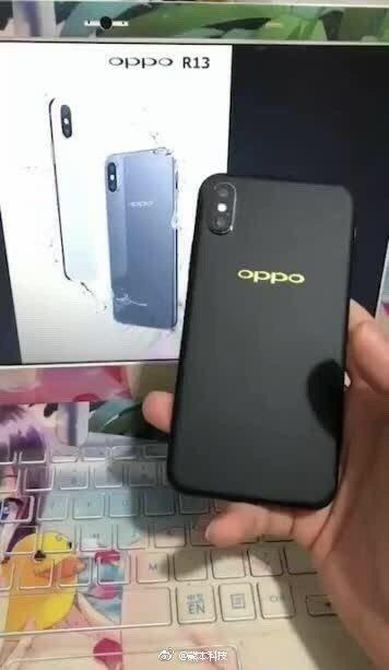 "Опубликованы ""живые"" фото смартфона Oppo R13"