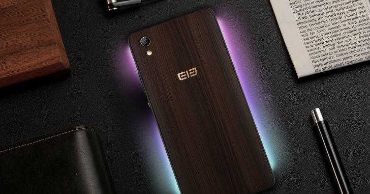 Elephone готовит смартфон с деревянной задней крышкой