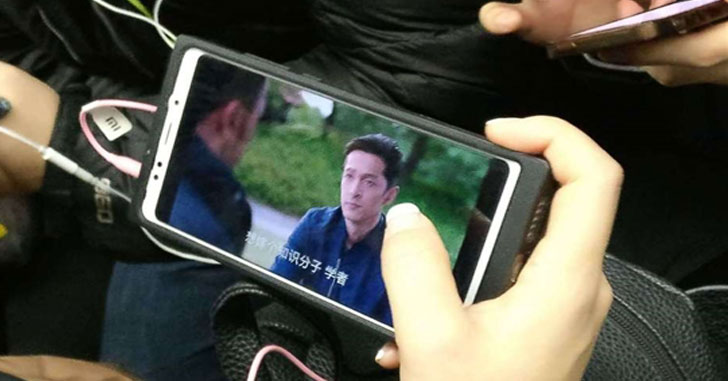 Загадочный смартфон Xiaomi R1/Mi R1 показали на фото