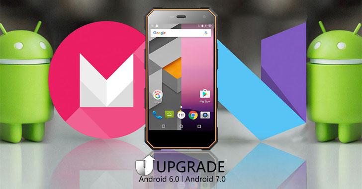 Для Nomu S10 вышла официальная прошивка на базе Android 7.0