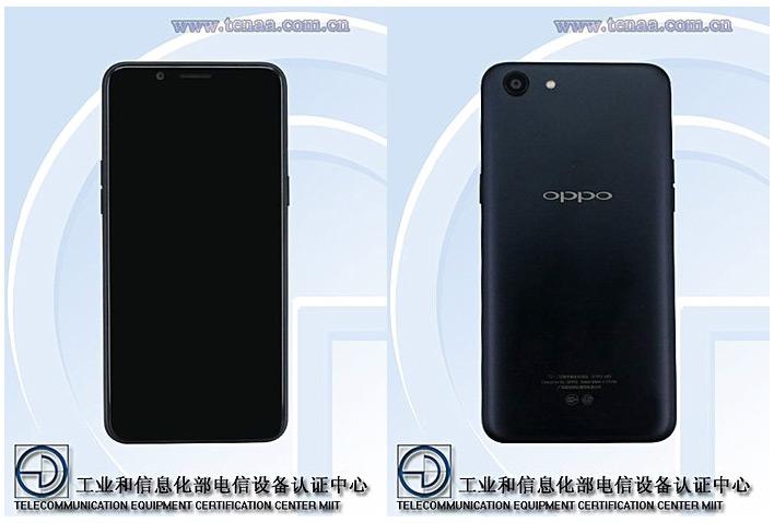Смартфон Oppo A83 замечен в базе данных TENAA