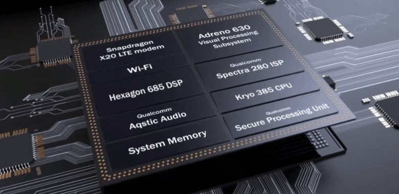Опубликованы все характеристики Snapdragon 845
