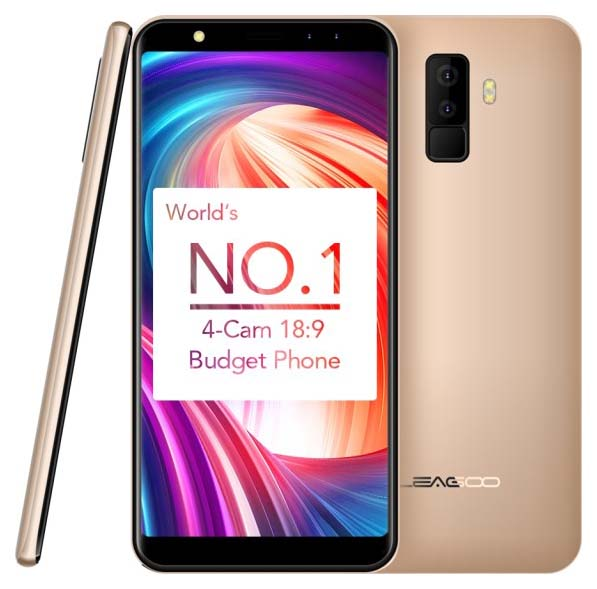 Представлен доступный смартфон Leagoo M9 с дисплеем 18:9
