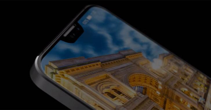 Концепт Huawei P11 с тройной камерой показали на рендерах
