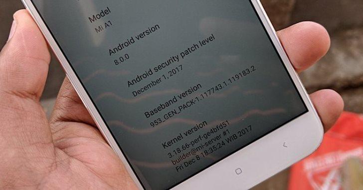 Xiaomi Mi A1 получит важное обновление