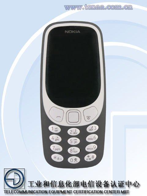 Nokia 3310 4G замечен на сайте TENAA