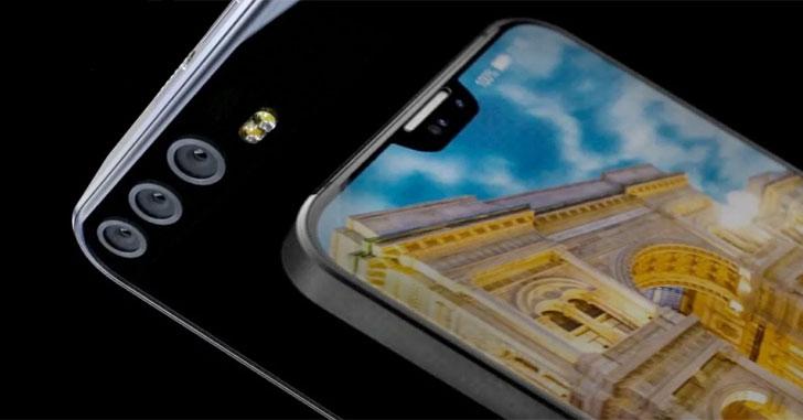 Huawei P20 будет оснащен новым процессором Kirin 975