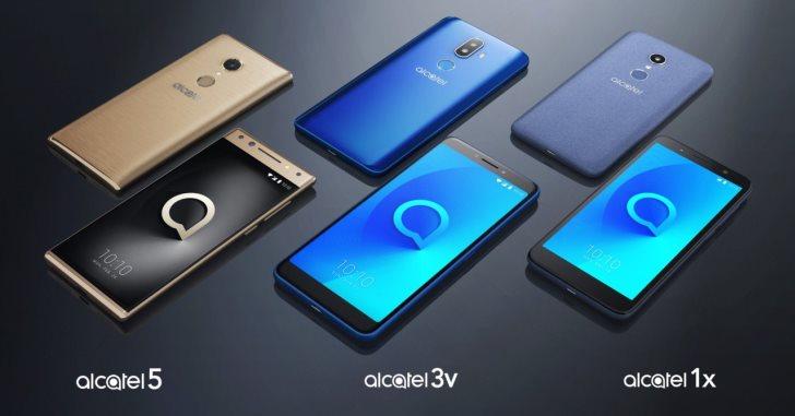 Alcatel выпустит сразу три серии смартфонов