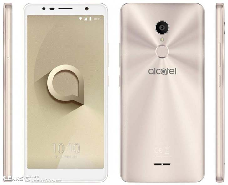 В Сети опубликовали рендеры смартфона Alcatel 3C