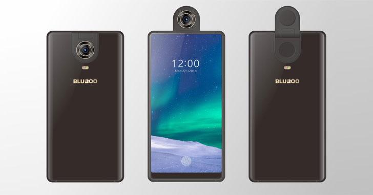 Bluboo S2 получит безрамочный дизайн и откидную камеру