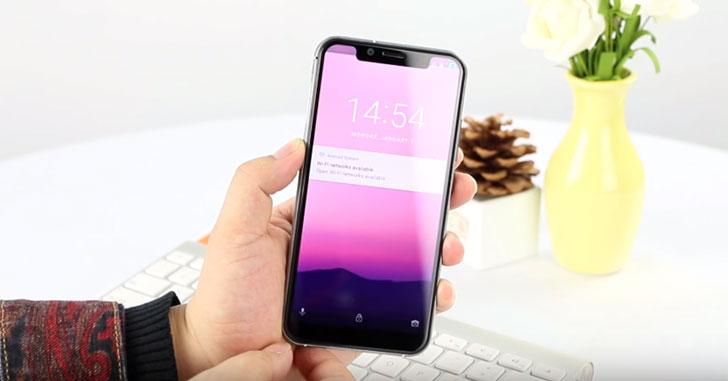 Предтавлен Oukitel U18 - еще одна реплика iPhone X