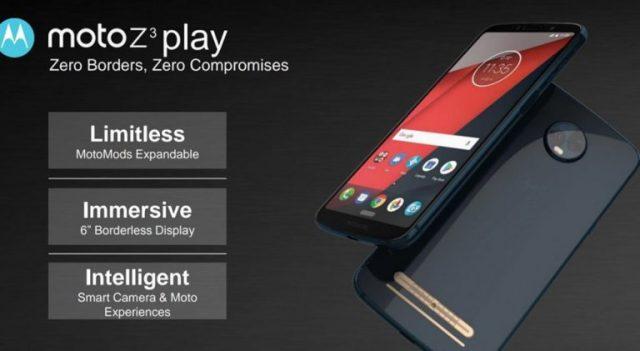 В сеть попали рендеры Moto Z3 Play