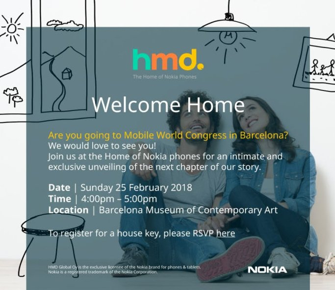 HMD Global представит на MWC 2018 новинки Nokia