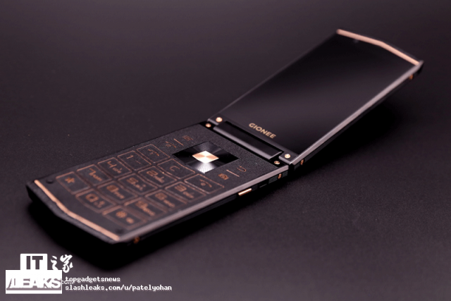 Раскладушка Gionee W919 показана на новых изображениях