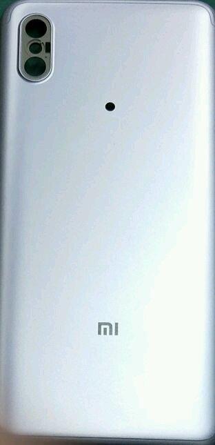 Опубликовано фото задней крышки Xiaomi Mi 6X