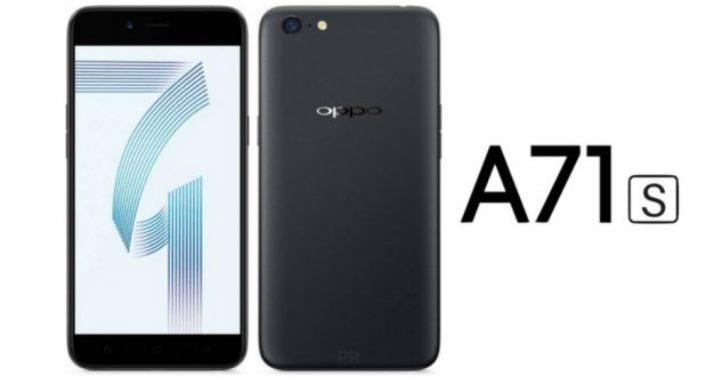 Oppo A71S будет распознавать владельца по лицу