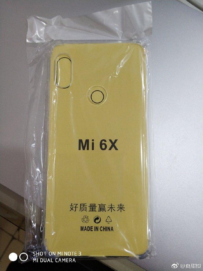 Опубликована очередная утечка про Xiaomi Mi 6X