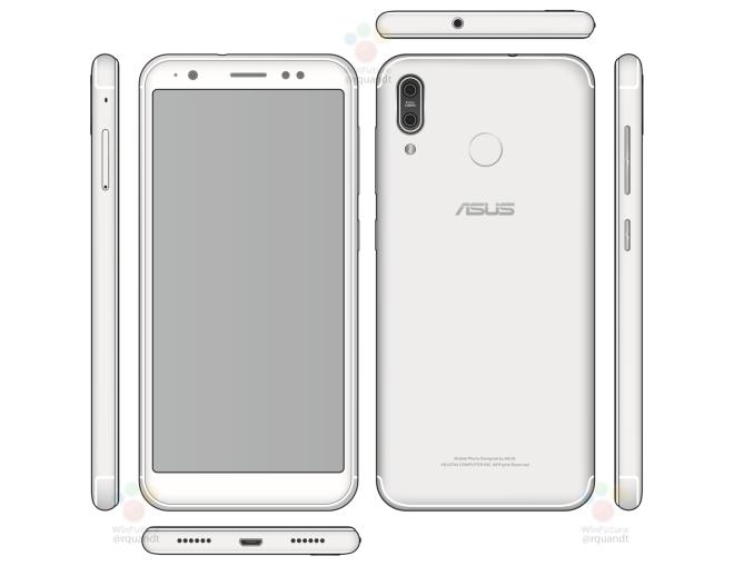 Появился рендер смартфона Asus Zenfone 5