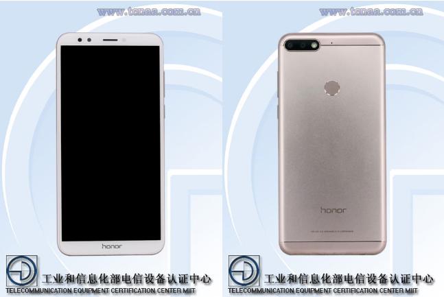 Honor 7C был замечен на сайте агенства TENAA