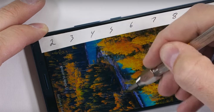 Смартфон Huawei Mate 10 Pro проверили на прочность