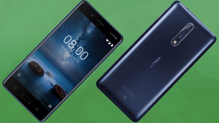 Nokia 8 обновляется до Android 8.1 Oreo