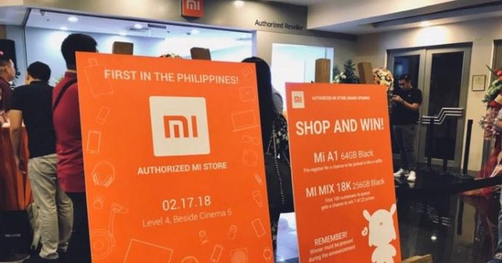 Xiaomi открыла первый официальный магазин на Филиппинах