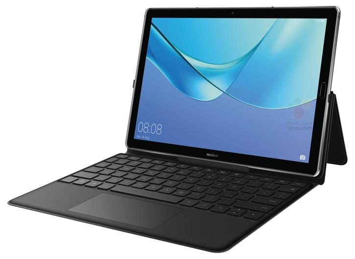 Huawei MediaPad M5 10 Pro показали на пресс-фото