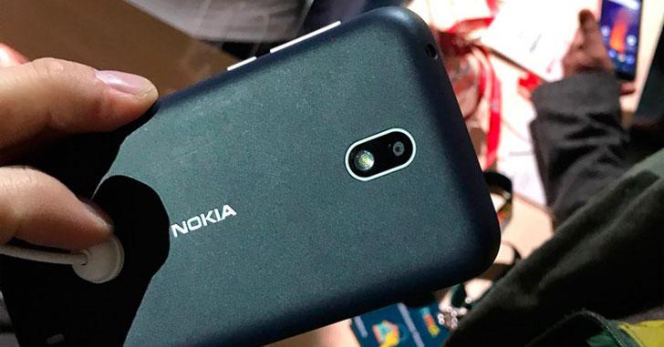 Nokia 1 - самый доступный смартфон бренда на Android Oreo Go Edition