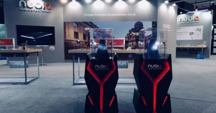 Nubia на MWC 2018 показала концепт геймерского смартфона
