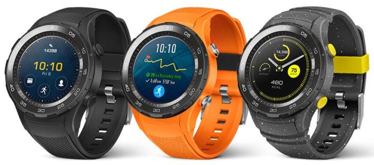Huawei может выпустить умные часы Watch 3