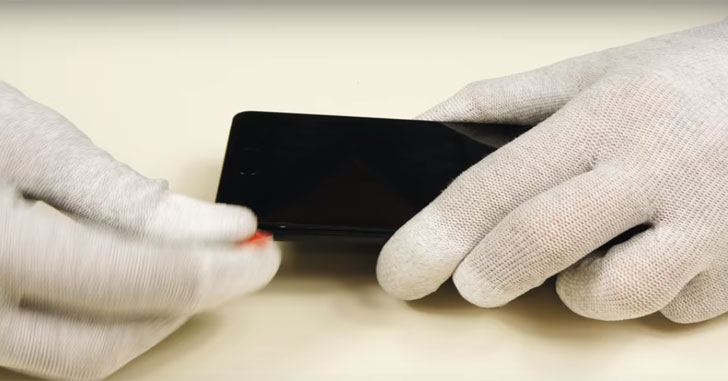 Процесс разборки смартфона Meizu Pro 7 показали на видео