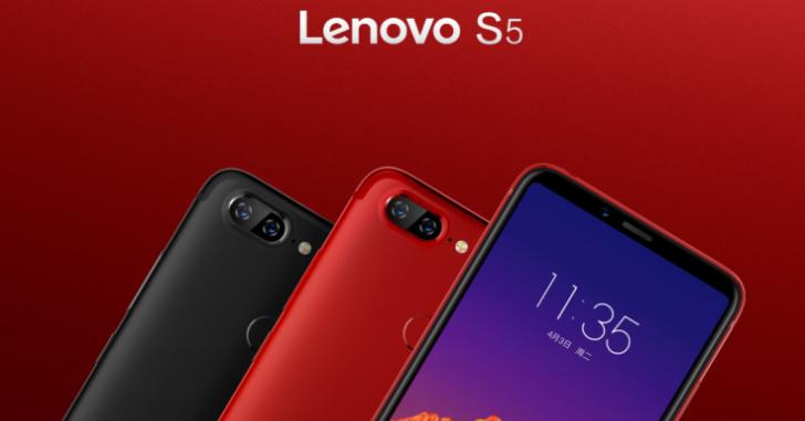 Представлены Lenovo S5, K5, K5 Lite