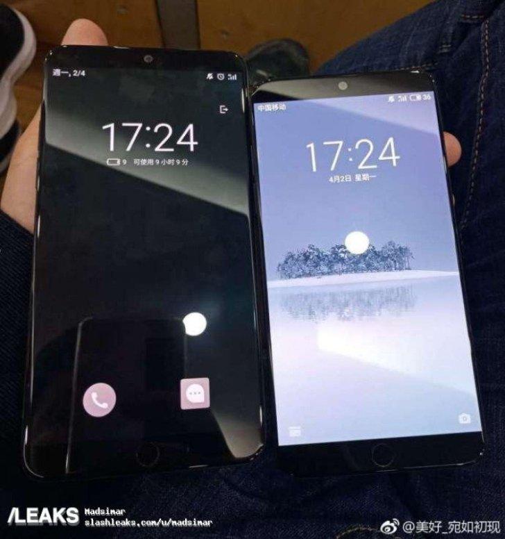 Размещены «живые» фото новых телефонов Meizu
