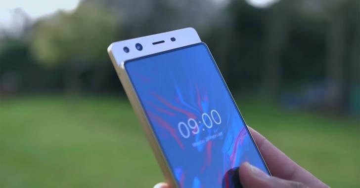 Doogee представила прототип по-настоящему безрамочного смартфона