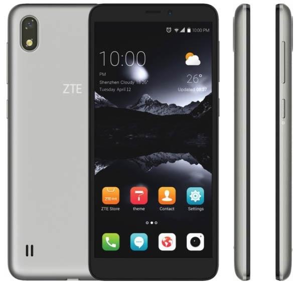 Смартфон ZTE Iceberg суникальным дизайном получил двойную камеру
