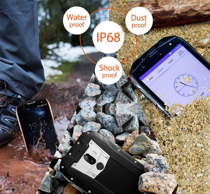Oukitel WP5000 смартфон с защитой IP68