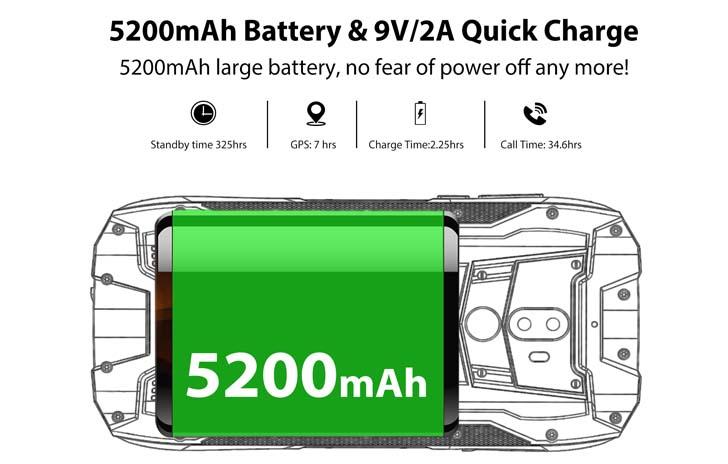 аккумулятор Oukitel WP5000