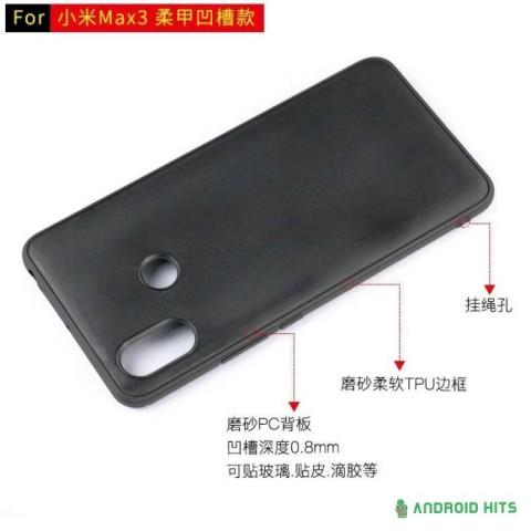 Стали известны подробности о дизайне Xiaomi Mi Max 3
