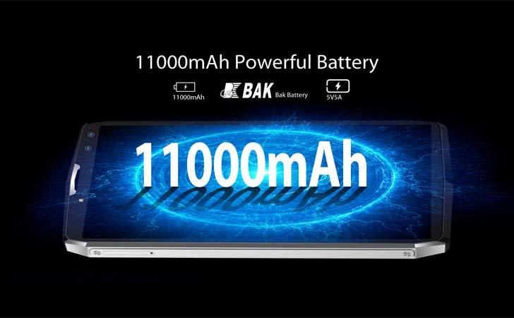 Смартфон Blackview P10000 Pro прошел тест на автономность