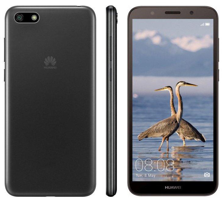 Опубликованы изображения Huawei Y3 (2018) и Y5 Prime (2018)