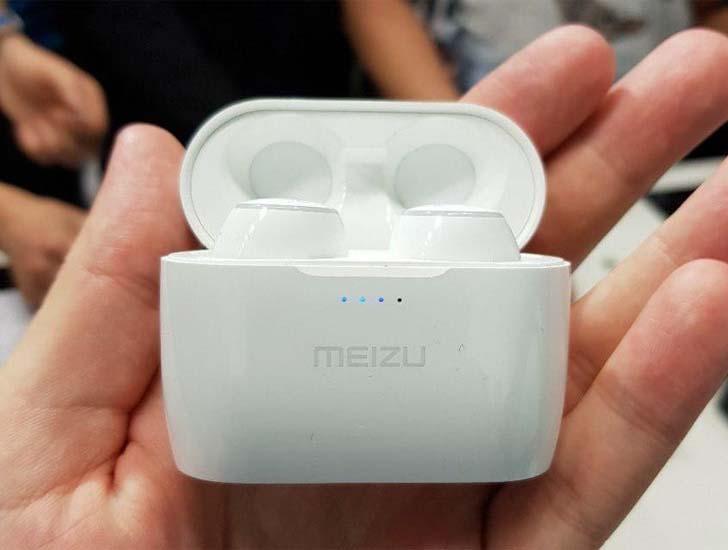 представлены беспроводные наушники Meizu Pop и Meizu Halo China
