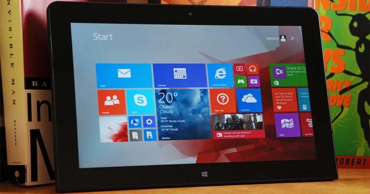 Планшет Lenovo Tablet 10 оснастили новыми чипами Intel