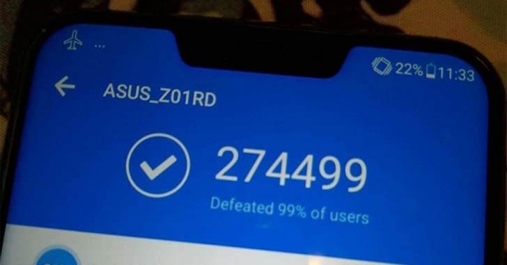 Asus ZenFone 5Z обошел Xiaomi Mi Mix 2S в тесте AnTuTu